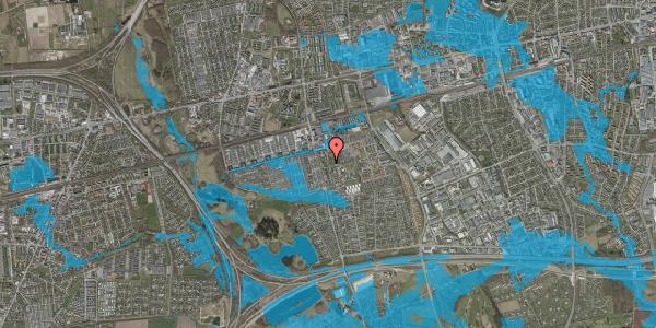 Oversvømmelsesrisiko fra vandløb på Albertslundvej 89, 2. th, 2625 Vallensbæk