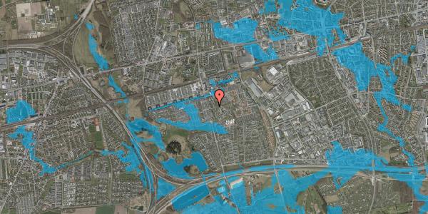Oversvømmelsesrisiko fra vandløb på Albertslundvej 91, 2. mf, 2625 Vallensbæk