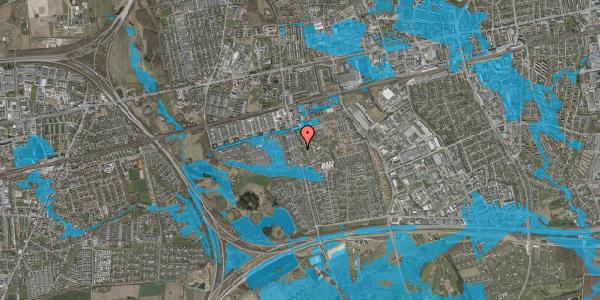 Oversvømmelsesrisiko fra vandløb på Albertslundvej 95, 1. mf, 2625 Vallensbæk