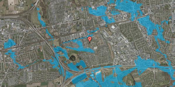 Oversvømmelsesrisiko fra vandløb på Albertslundvej 95, 1. th, 2625 Vallensbæk