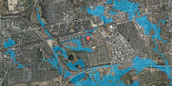 Oversvømmelsesrisiko fra vandløb på Albertslundvej 95, 2. th, 2625 Vallensbæk