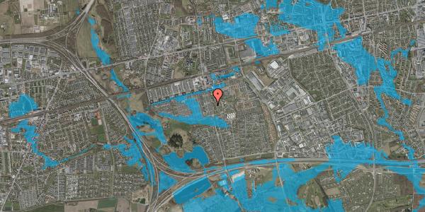 Oversvømmelsesrisiko fra vandløb på Albertslundvej 97, st. mf, 2625 Vallensbæk