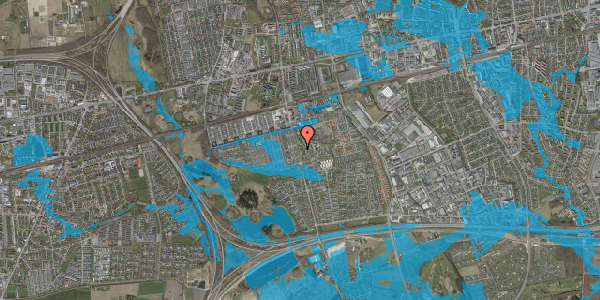 Oversvømmelsesrisiko fra vandløb på Albertslundvej 97, st. tv, 2625 Vallensbæk