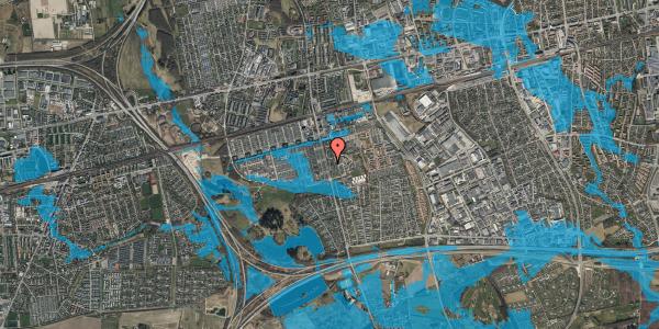 Oversvømmelsesrisiko fra vandløb på Albertslundvej 97, 2. th, 2625 Vallensbæk