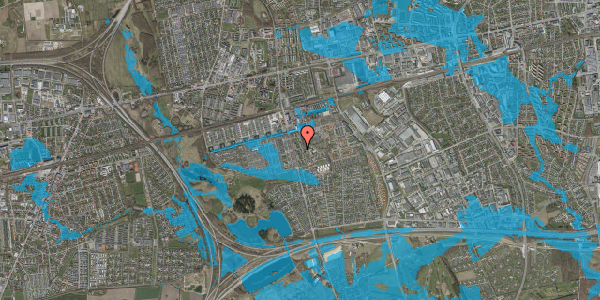 Oversvømmelsesrisiko fra vandløb på Albertslundvej 99, 2. mf, 2625 Vallensbæk