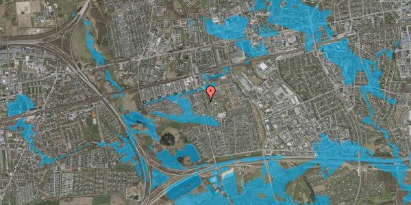 Oversvømmelsesrisiko fra vandløb på Albertslundvej 99, 2. th, 2625 Vallensbæk