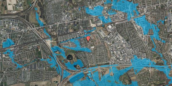 Oversvømmelsesrisiko fra vandløb på Albertslundvej 103, st. mf, 2625 Vallensbæk