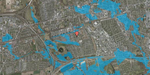 Oversvømmelsesrisiko fra vandløb på Albertslundvej 103, 2. tv, 2625 Vallensbæk