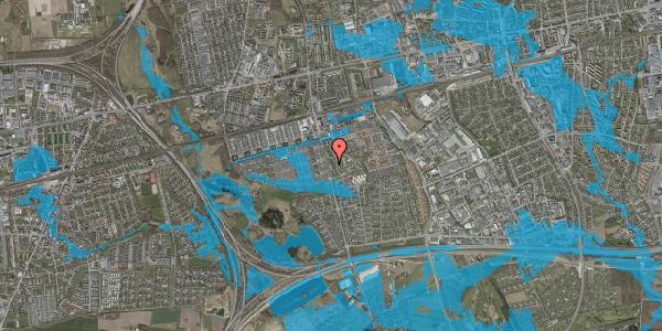 Oversvømmelsesrisiko fra vandløb på Albertslundvej 105, st. mf, 2625 Vallensbæk