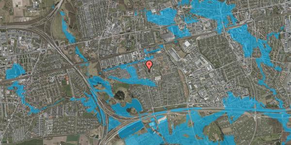 Oversvømmelsesrisiko fra vandløb på Albertslundvej 105, st. tv, 2625 Vallensbæk