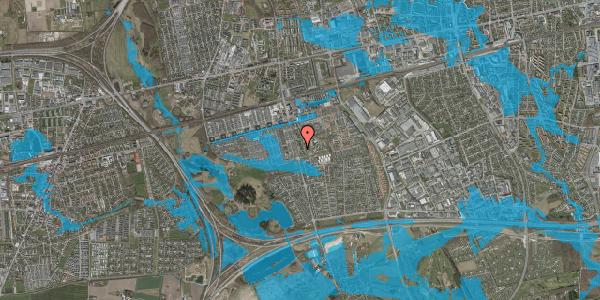 Oversvømmelsesrisiko fra vandløb på Albertslundvej 109, 1. th, 2625 Vallensbæk