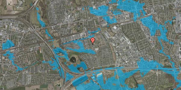 Oversvømmelsesrisiko fra vandløb på Albertslundvej 111, st. tv, 2625 Vallensbæk