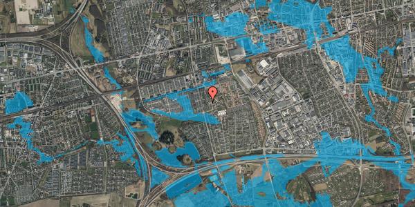 Oversvømmelsesrisiko fra vandløb på Albertslundvej 111, 2. th, 2625 Vallensbæk