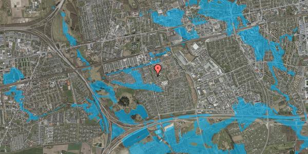 Oversvømmelsesrisiko fra vandløb på Albertslundvej 113, st. th, 2625 Vallensbæk