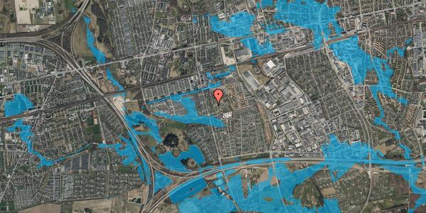 Oversvømmelsesrisiko fra vandløb på Albertslundvej 113, 2. tv, 2625 Vallensbæk