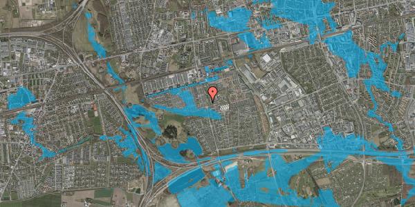 Oversvømmelsesrisiko fra vandløb på Albertslundvej 117, st. mf, 2625 Vallensbæk