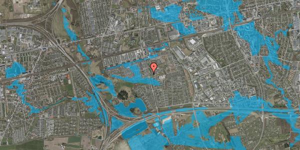 Oversvømmelsesrisiko fra vandløb på Albertslundvej 119, st. mf, 2625 Vallensbæk