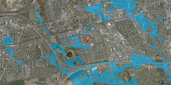Oversvømmelsesrisiko fra vandløb på Albertslundvej 121, 1. th, 2625 Vallensbæk