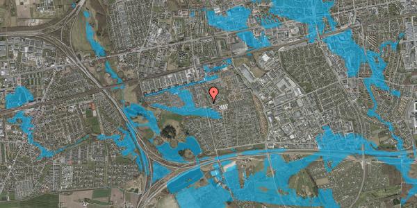 Oversvømmelsesrisiko fra vandløb på Albertslundvej 123, 1. th, 2625 Vallensbæk