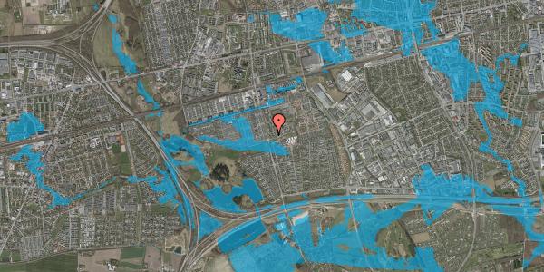 Oversvømmelsesrisiko fra vandløb på Albertslundvej 123, 2. tv, 2625 Vallensbæk
