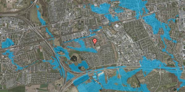 Oversvømmelsesrisiko fra vandløb på Albertslundvej 127, st. mf, 2625 Vallensbæk