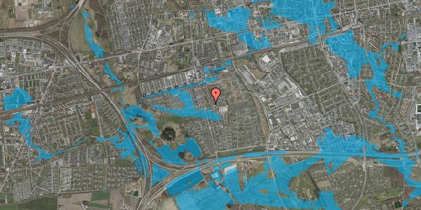 Oversvømmelsesrisiko fra vandløb på Albertslundvej 127, 1. th, 2625 Vallensbæk