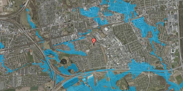 Oversvømmelsesrisiko fra vandløb på Bellishaven 3, 2625 Vallensbæk