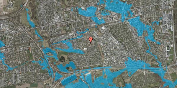 Oversvømmelsesrisiko fra vandløb på Bellishaven 7, 2625 Vallensbæk