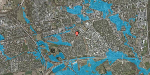 Oversvømmelsesrisiko fra vandløb på Bellishaven 8, 2625 Vallensbæk