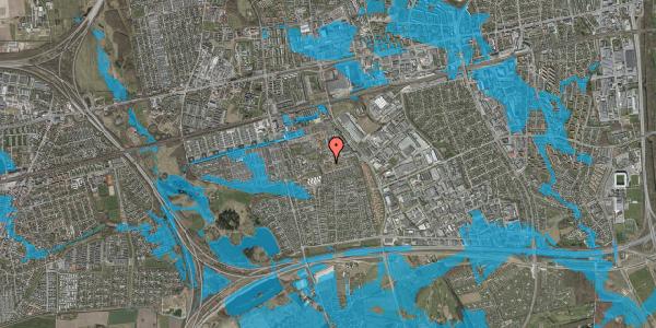 Oversvømmelsesrisiko fra vandløb på Bellishaven 10, 2625 Vallensbæk