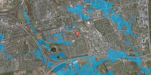 Oversvømmelsesrisiko fra vandløb på Bellishaven 16, 2625 Vallensbæk