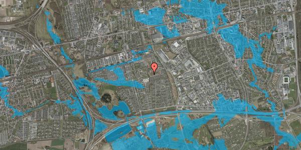Oversvømmelsesrisiko fra vandløb på Bellishaven 19, 2625 Vallensbæk