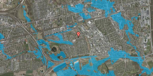 Oversvømmelsesrisiko fra vandløb på Bellishaven 20, 2625 Vallensbæk