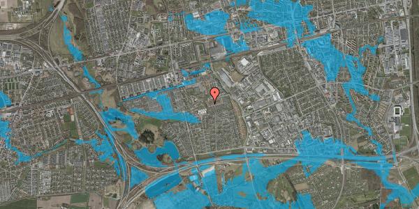 Oversvømmelsesrisiko fra vandløb på Bellishaven 24, 2625 Vallensbæk