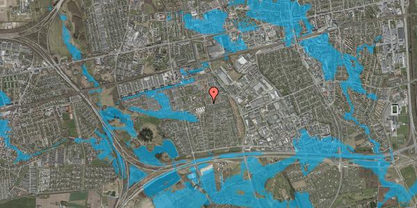 Oversvømmelsesrisiko fra vandløb på Bellishaven 26, 2625 Vallensbæk