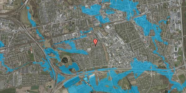 Oversvømmelsesrisiko fra vandløb på Bellishaven 27, 2625 Vallensbæk