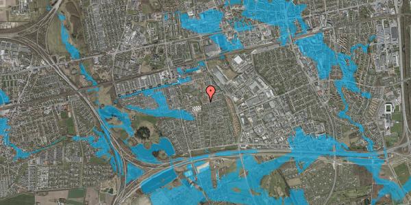 Oversvømmelsesrisiko fra vandløb på Bellishaven 28, 2625 Vallensbæk