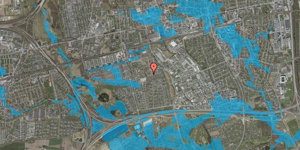 Oversvømmelsesrisiko fra vandløb på Bellishaven 29, 2625 Vallensbæk