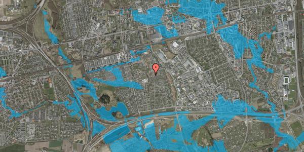 Oversvømmelsesrisiko fra vandløb på Bellishaven 30, 2625 Vallensbæk