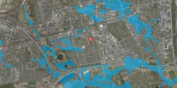 Oversvømmelsesrisiko fra vandløb på Bellishaven 32, 2625 Vallensbæk