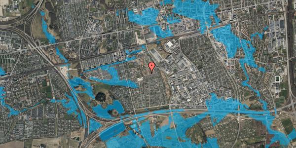 Oversvømmelsesrisiko fra vandløb på Bellishaven 33, 2625 Vallensbæk