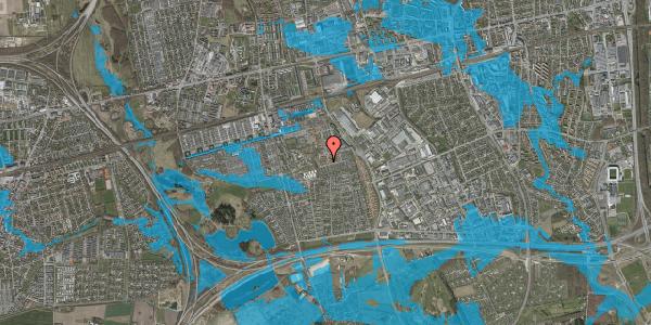 Oversvømmelsesrisiko fra vandløb på Bellishaven 38, 2625 Vallensbæk