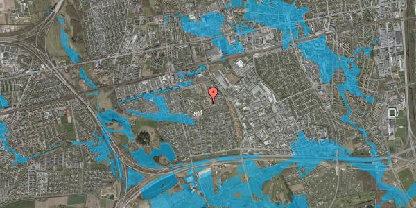 Oversvømmelsesrisiko fra vandløb på Bellishaven 39, 2625 Vallensbæk