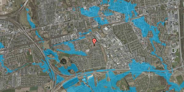 Oversvømmelsesrisiko fra vandløb på Bellishaven 41, 2625 Vallensbæk