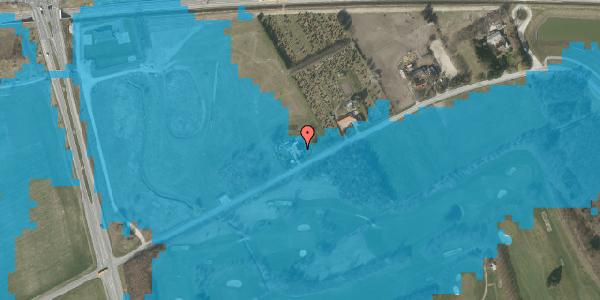 Oversvømmelsesrisiko fra vandløb på Brøndbyvej 166, 2625 Vallensbæk