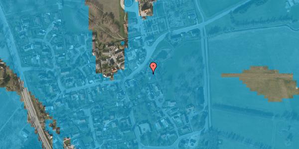 Oversvømmelsesrisiko fra vandløb på Brøndbyvej 203, 2625 Vallensbæk