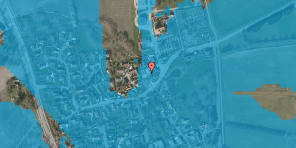 Oversvømmelsesrisiko fra vandløb på Brøndbyvej 204, 2625 Vallensbæk
