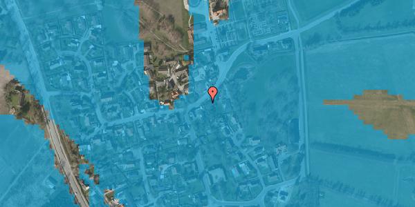 Oversvømmelsesrisiko fra vandløb på Brøndbyvej 207, 2625 Vallensbæk