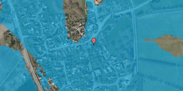Oversvømmelsesrisiko fra vandløb på Brøndbyvej 209, 2625 Vallensbæk