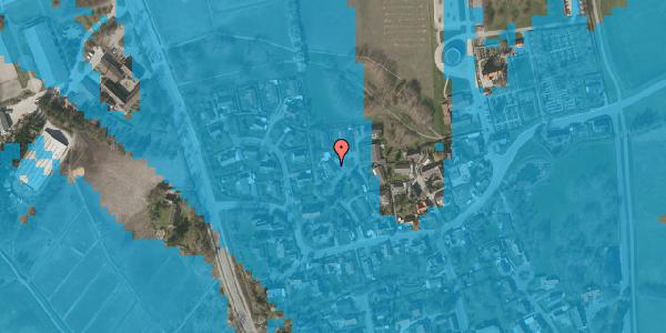 Oversvømmelsesrisiko fra vandløb på Bybakken 5, 2625 Vallensbæk